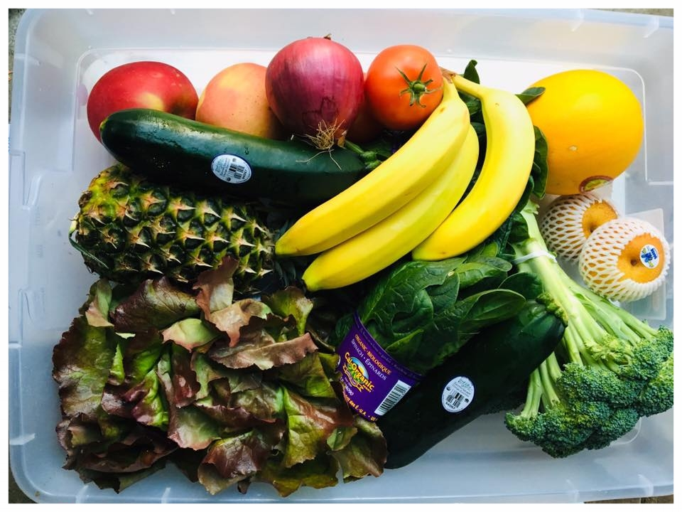 Delivering fresh, organic fruits and vegetables directly to your home or office.