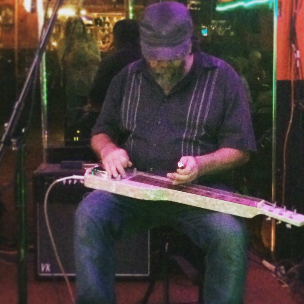 Dave playin' the lap steel.JPG