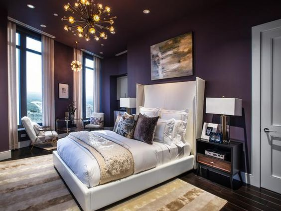 Merveilleux Rich, Warm Shades Of Brown Can Also Be Called Upon To Spice Up Your Master  Bedroom. Step Out Of Your Comfort Zone And Inject Brown Tones Through The  ...