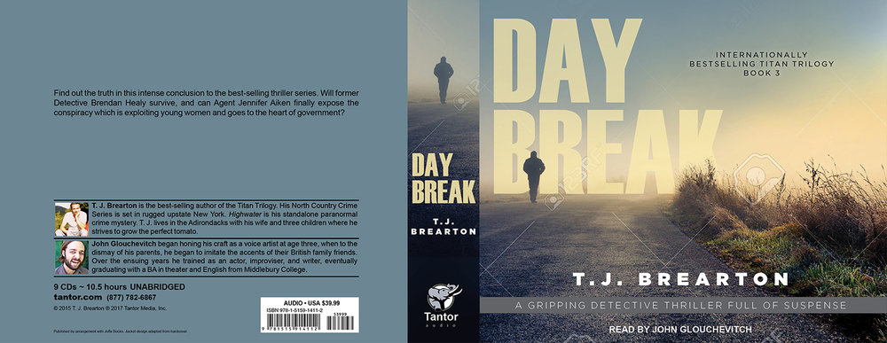 Daybreak is available as an Audible download or an Audio CD set.