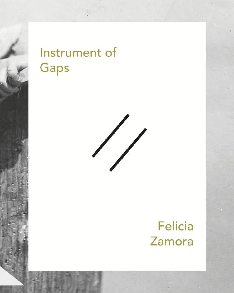 "Instrument of Gaps - Released from Slope Editions in February 2018! ""...& you speak to the mouse in the oven drawer; how no coax, no out-out, simple intonations as before a hymn; you remember the weight of the log in small palms & he, riding the lawn mower in circles, Best be done now; & the bulbous shadowmoving, then not; the sweat of you in cower; how we forgive ourselves least…""                                - from"