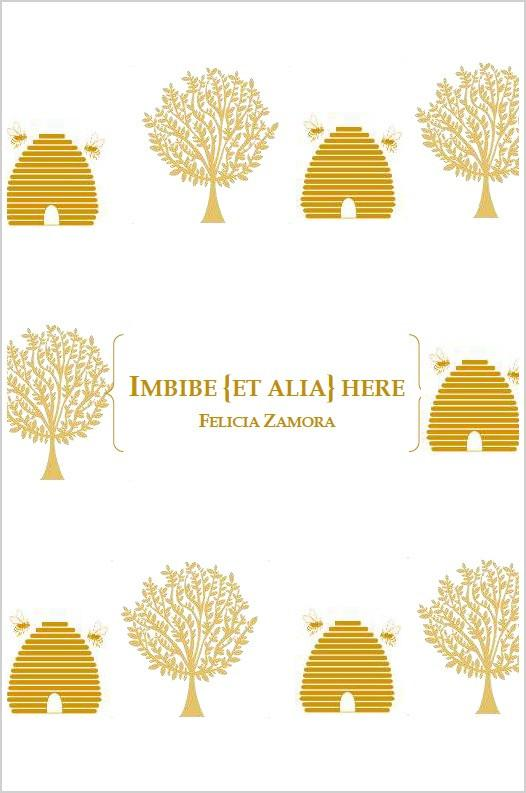 Imbibe {et alia} here - A chapbook - Dancing Girl Press