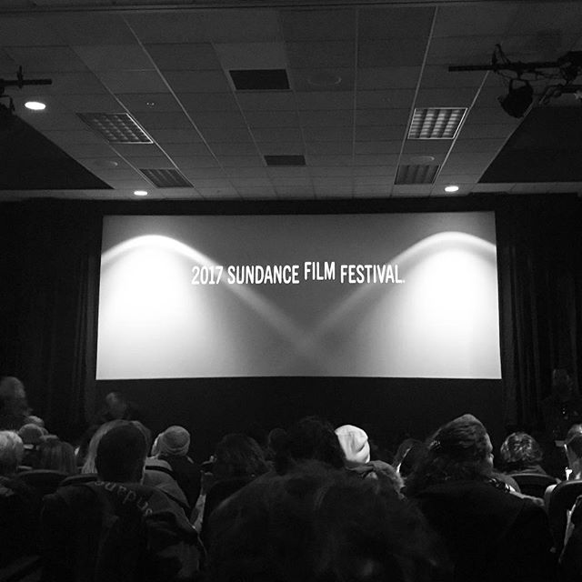 Taking some time to enjoy the show... #Sundance
