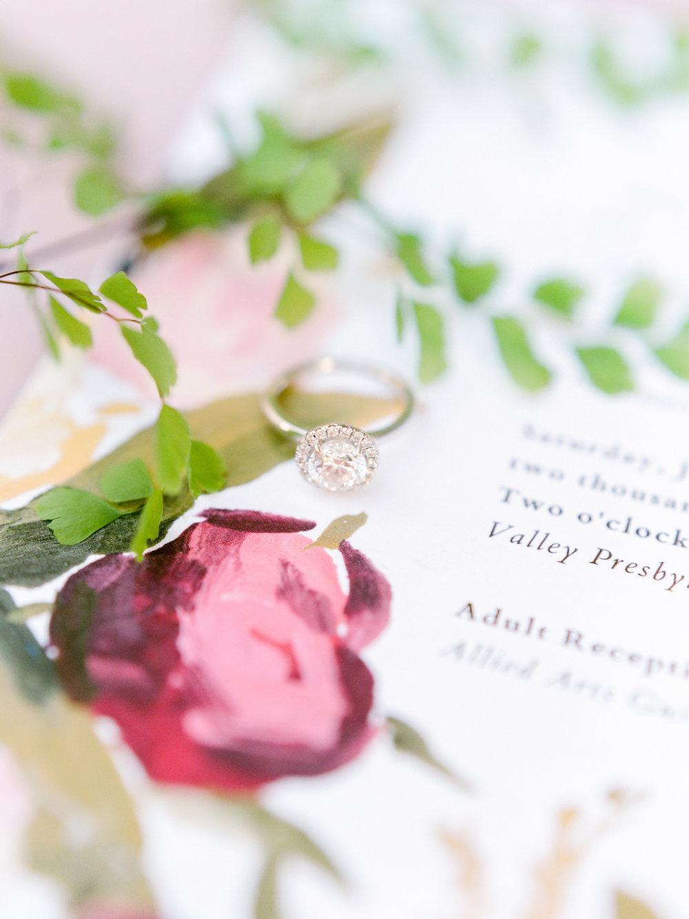 Clare & Samuel's Summer Garden Wedding at Allied Arts Guild  Natalie Choi Events. Kate Anfinson Photography. My Wedding Sense.