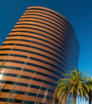 Center Tower, Costa Mesa, CA. C.J. Segerstrom, Tenant Space Planning, Gensler