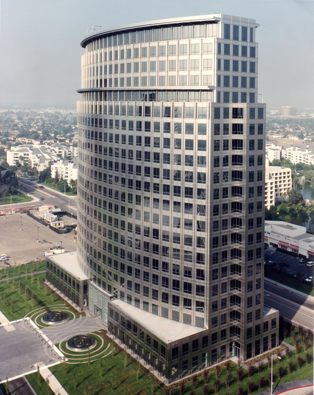 Center Tower, Costa Mesa, CA, C.J. Segerstrom, tenant development for CRSS & Gensler.