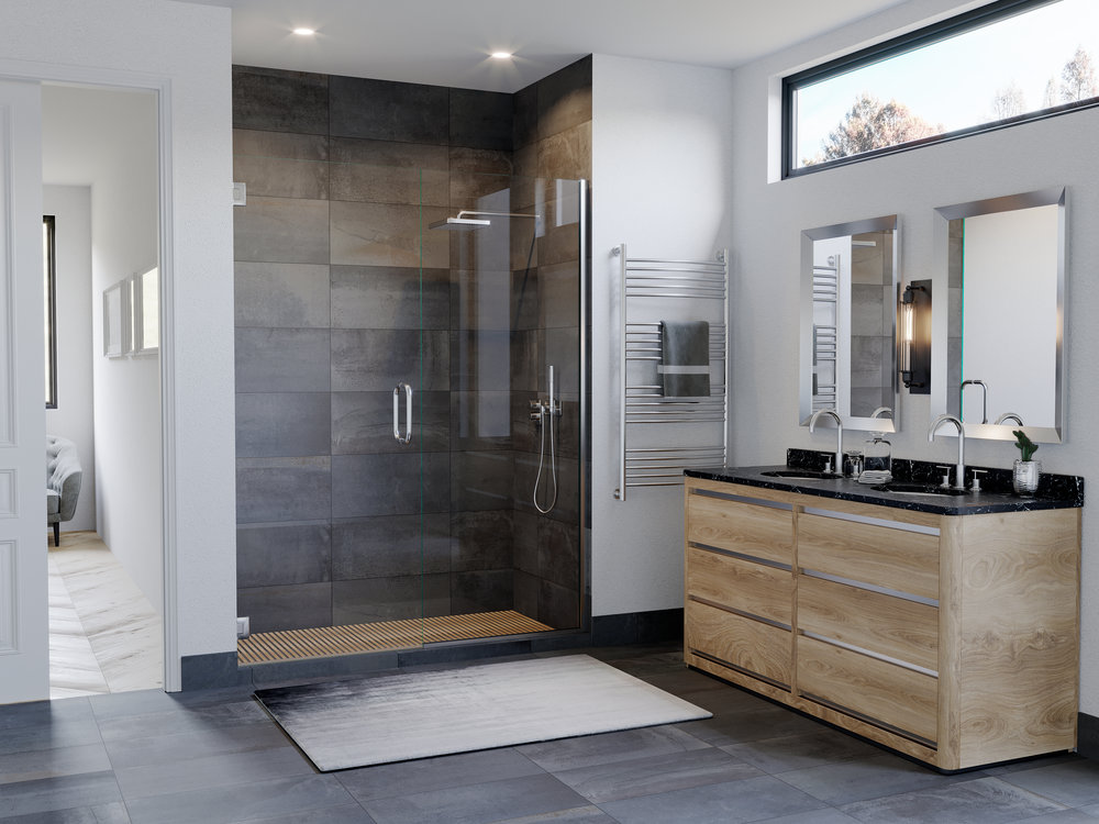 Value Line Shower Door ( Chrome )