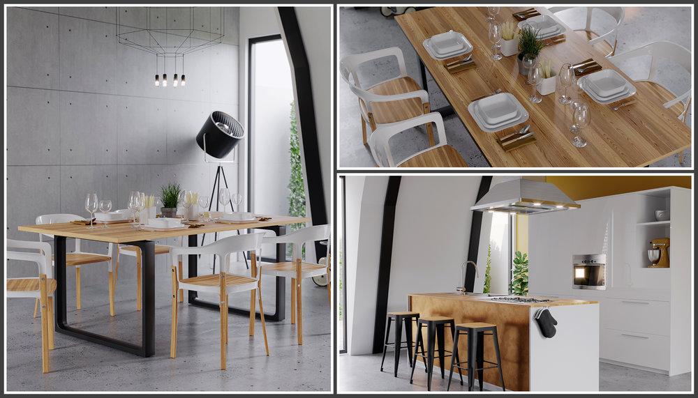 Luke Cage Loft Kitchen