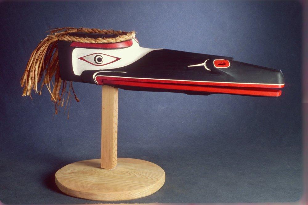 Raven Salish Mask