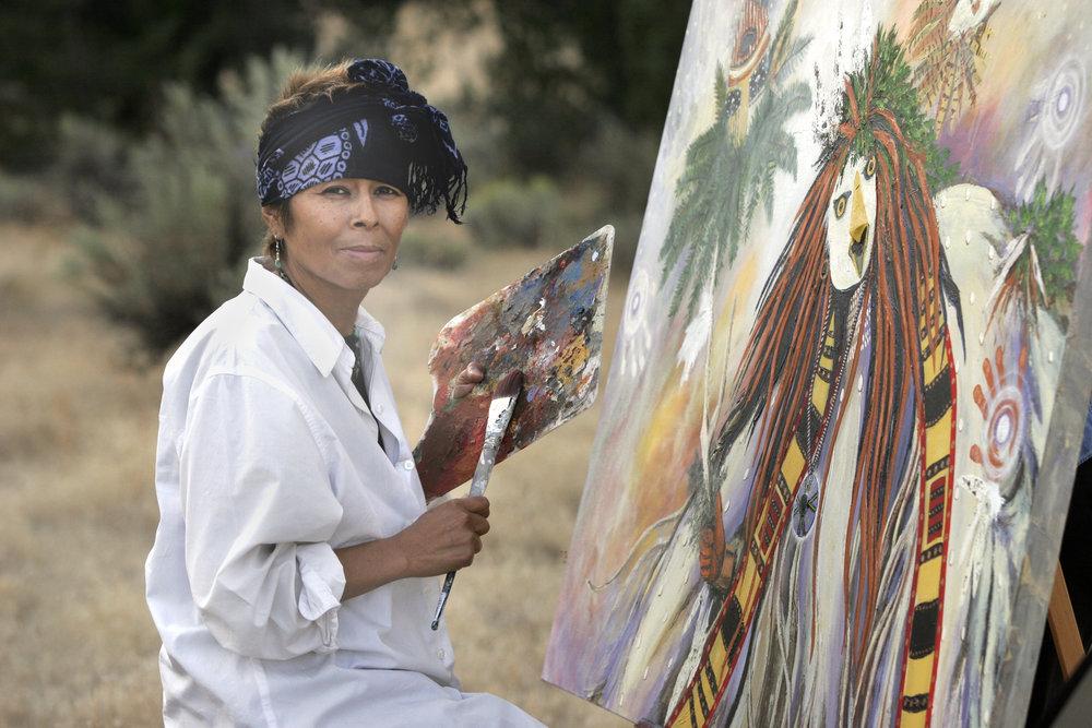 Image by Hulleah Tsinhnahijinnie (Seminole/Muskogee/Dine)