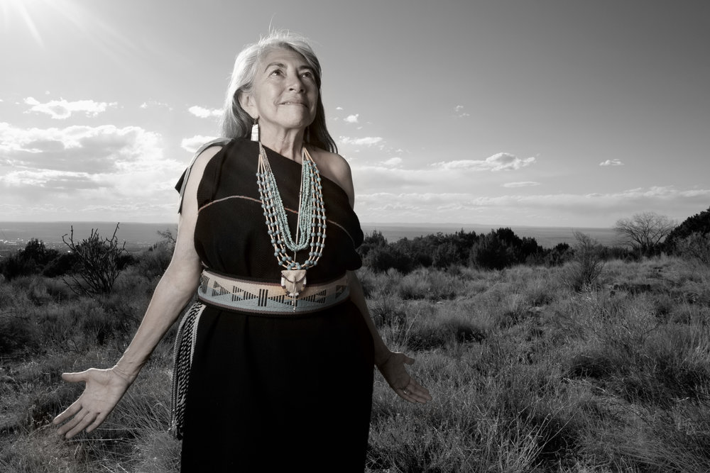 Mary Evelyn Belgarde, Pueblo of Isleta and Ohkay Owingeh, New Mexico
