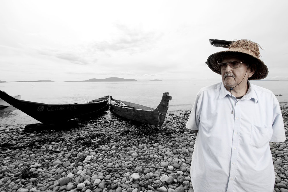 Chief Bill James, Lummi Nation, Washington