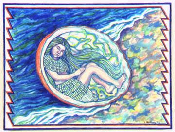 Abalone Woman