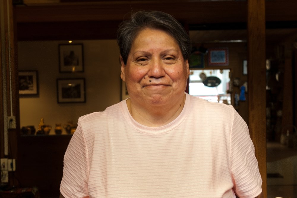 Lucille Lossiah (Eastern Band of Cherokees)