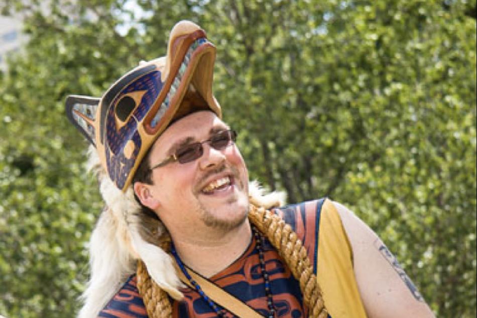 David R. Boxley (Tsimshian)