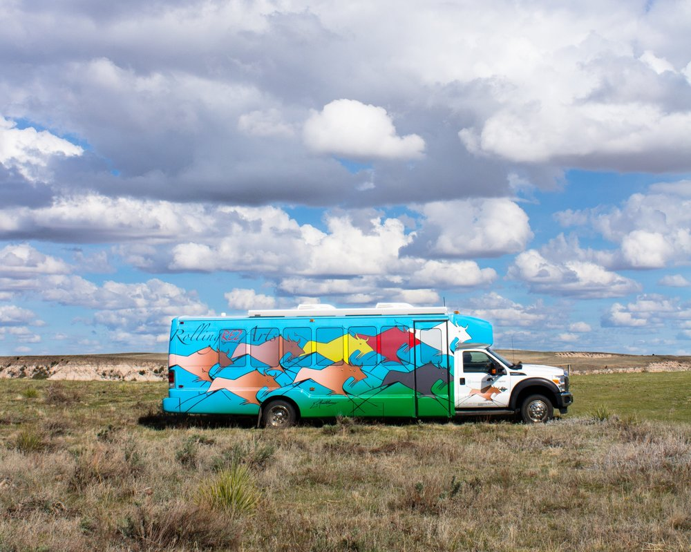 Rolling Rez Arts Mobile Arts Unit