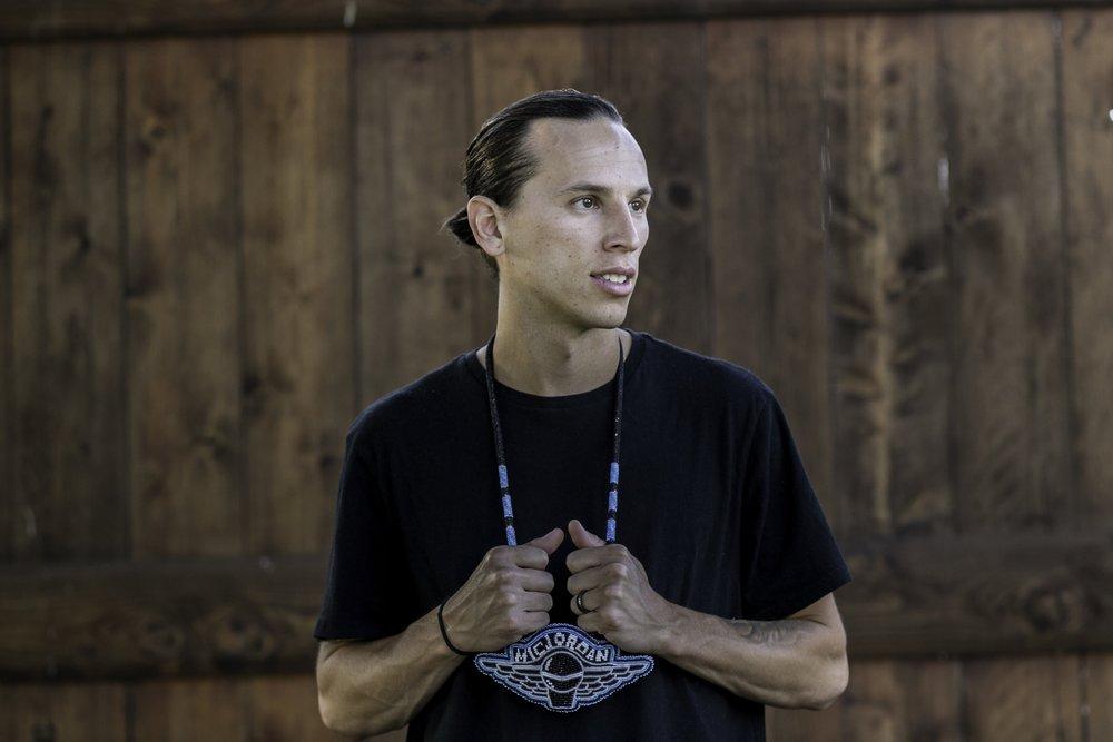 Mic Jordan (Ojibwe)