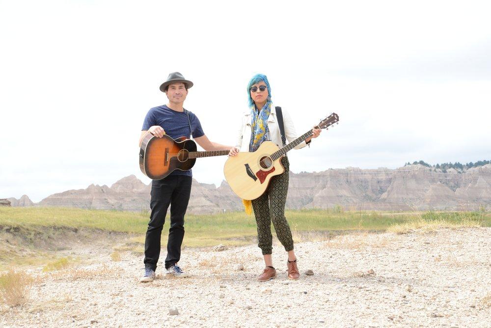 Scotti and Juliana Clifford (Oglala Lakota)