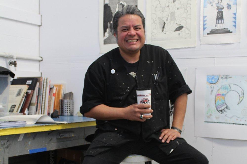 Jason Garcia (Santa Clara Pueblo Tewa)