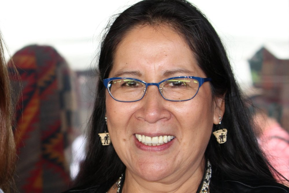 Carol Emarthle-Douglas (Northern Arapahoe/Seminole)