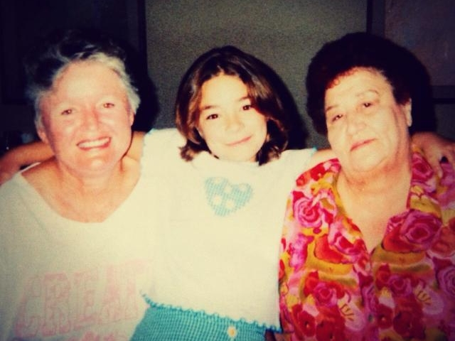 Cec with Grandmas.jpg