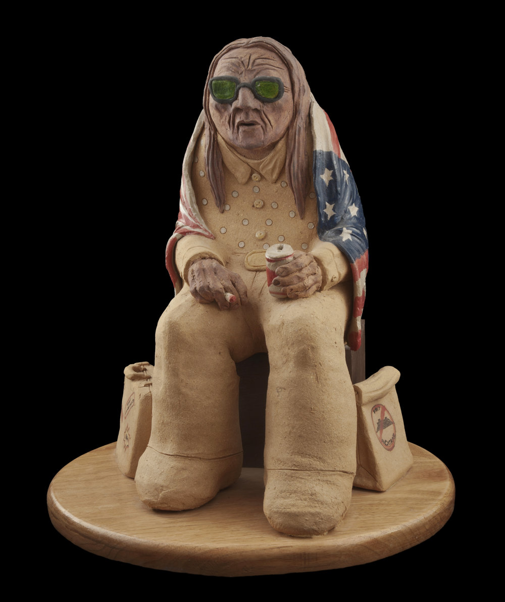 11-Peter_B_Jones_2007_Indian_with_Baggage_2_Stoneware_pigment_13.jpg