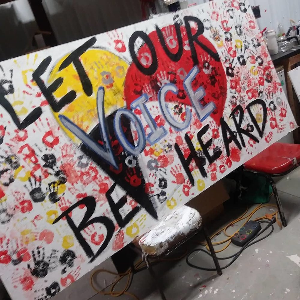Let Our Voice Be Heard Message Board.jpg