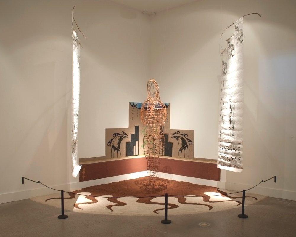 Allegorical Beliefs  by Deborah A. Jojola (Isleta Pueblo, Jemez Pueblo)