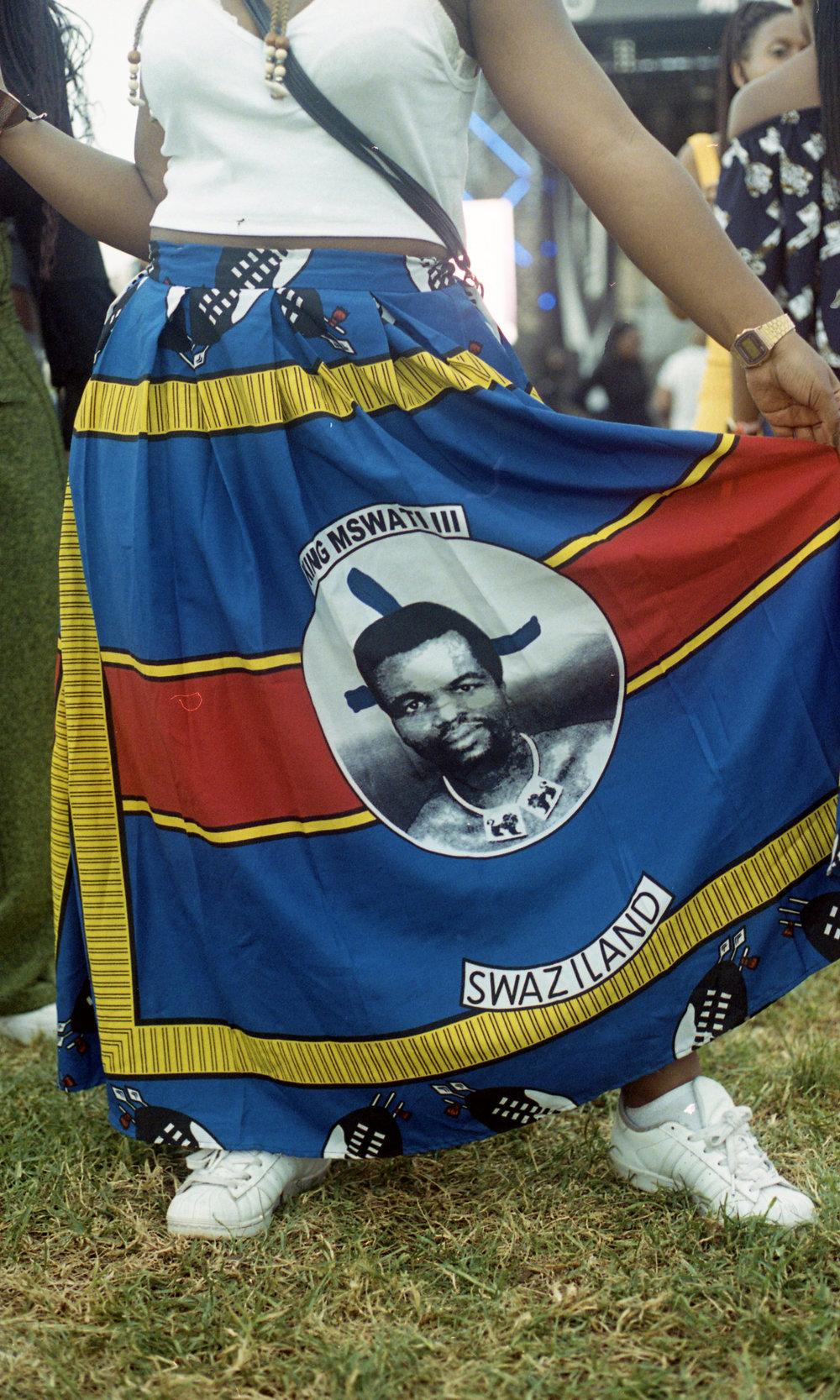 Bongiwe Bongwa, representing Swaziland