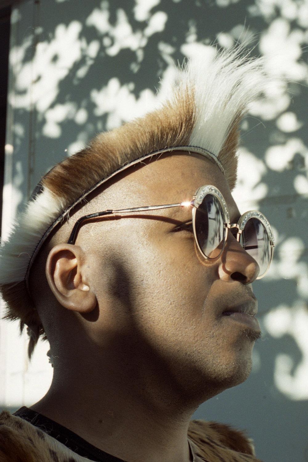 Spoek Mathambo, performer, representing Zulu