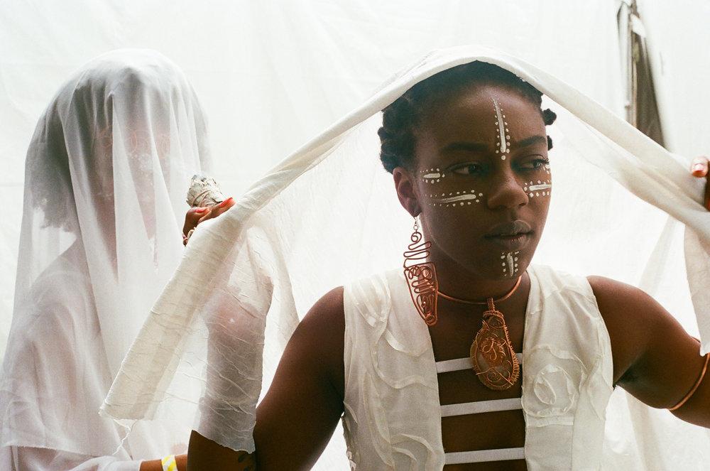 OSHUN at Afropunk 2015 for VICE