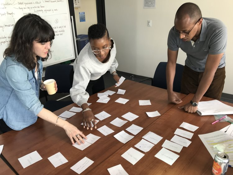 NYC Department for Environmental Protection    Process in creating accessible content and design strategy based on user research and stakeholder insights   Role:  Designer, user and design researcher, and workshop facilitator