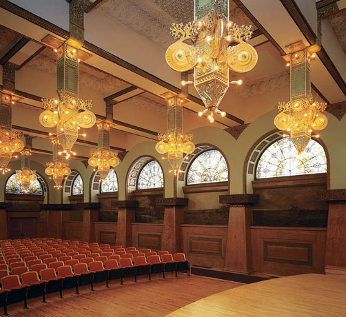 Roosevelt University Rudolph<br>Ganz Recital Hall