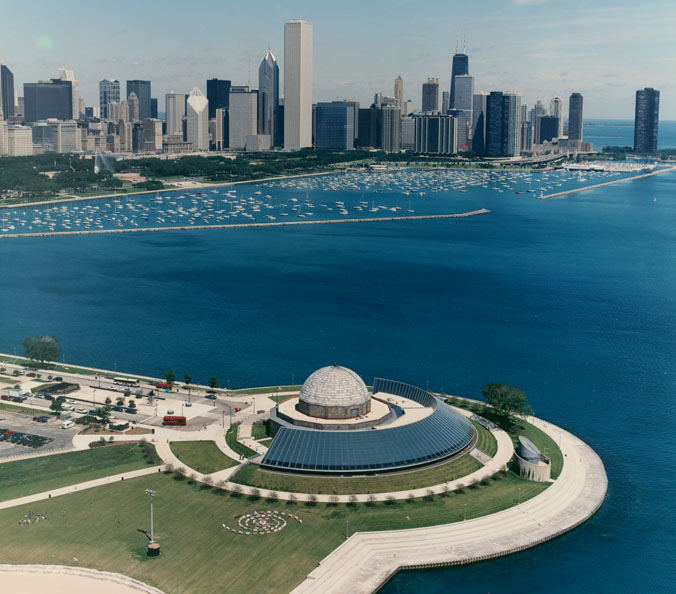 The Adler Planetarium
