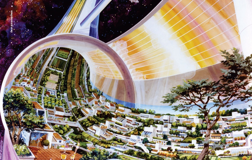 A real space case.  NASA's interest in a massive, occupied space station—and the need for clean, breathable oxygen—helped generate interest in the type of air found in buildings and homes.