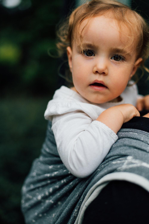 Seattle Babywearing Photography