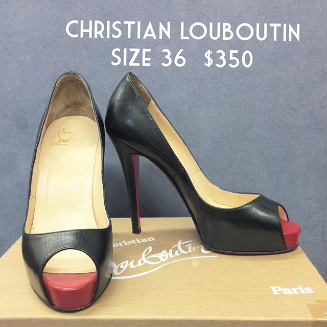 #consignment #christianlouboutin #designer #chic