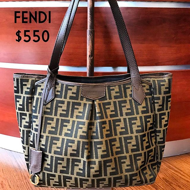 Fendi $550 #fendi #purse #consignment #purseforsale #chicenvy #fairfaxcorner #fashionista