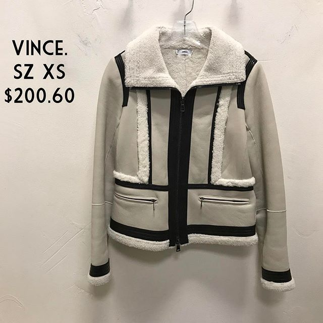 Vince. Jacket Size XS $200.60 #vince #fashionista #jacketforsale #forsale #consignment #fairfaxcorner #chicenvy