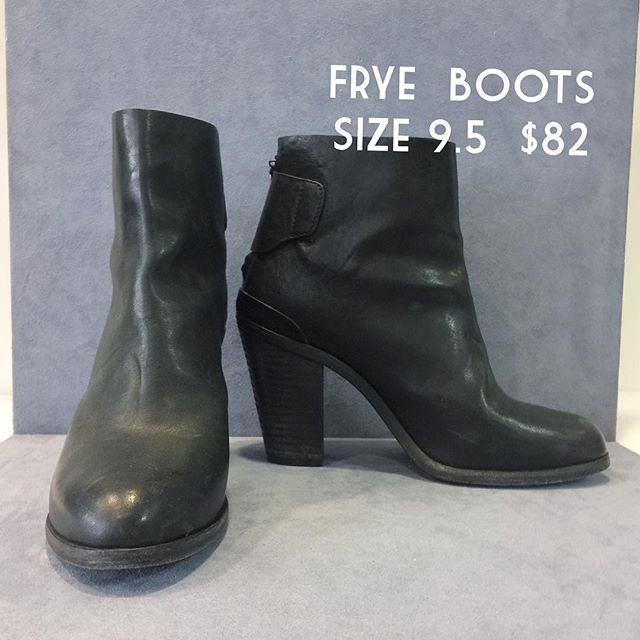 #consignment #frye #boots