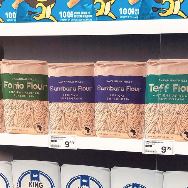 Great news, the future is biodiverse! Bambara flour made it to The Biodiversity Shelf at @thefuturemkt at the #fancyfoodshow. 🥞 Don't miss the full exhibit in Room 202. 🥨 . . . . #winterfancyfoodshow #wffs2019