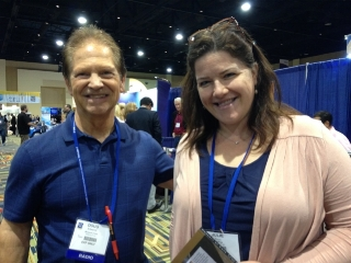 Doug Edwards and Julie Knox