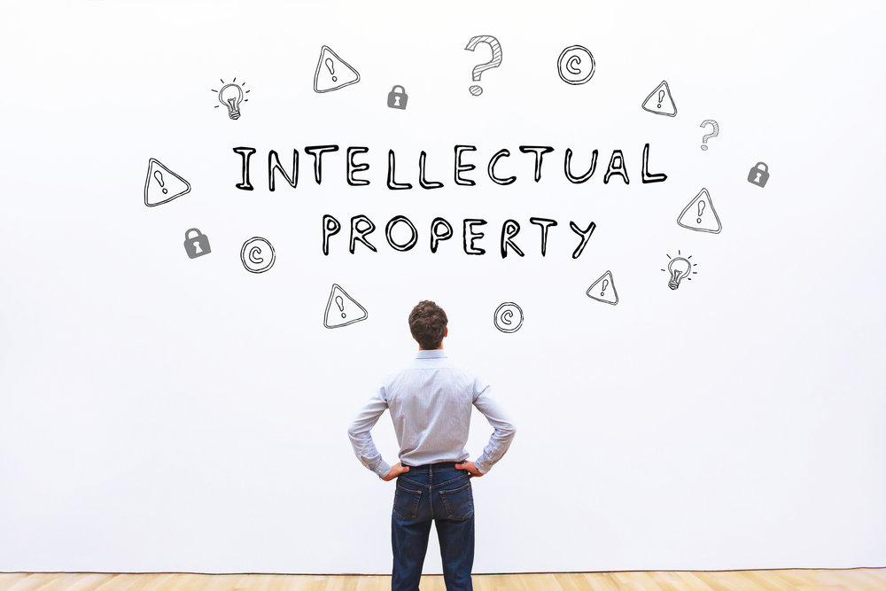 intellectual property - Intellectual property is something of commercial value that the human mind conceives. It might be an invention, a literary work, a musical score, an architectural design, a drawing or painting, an innovative process or design, a performance, or a symbol that identifies the work and products of an individual or business entity.