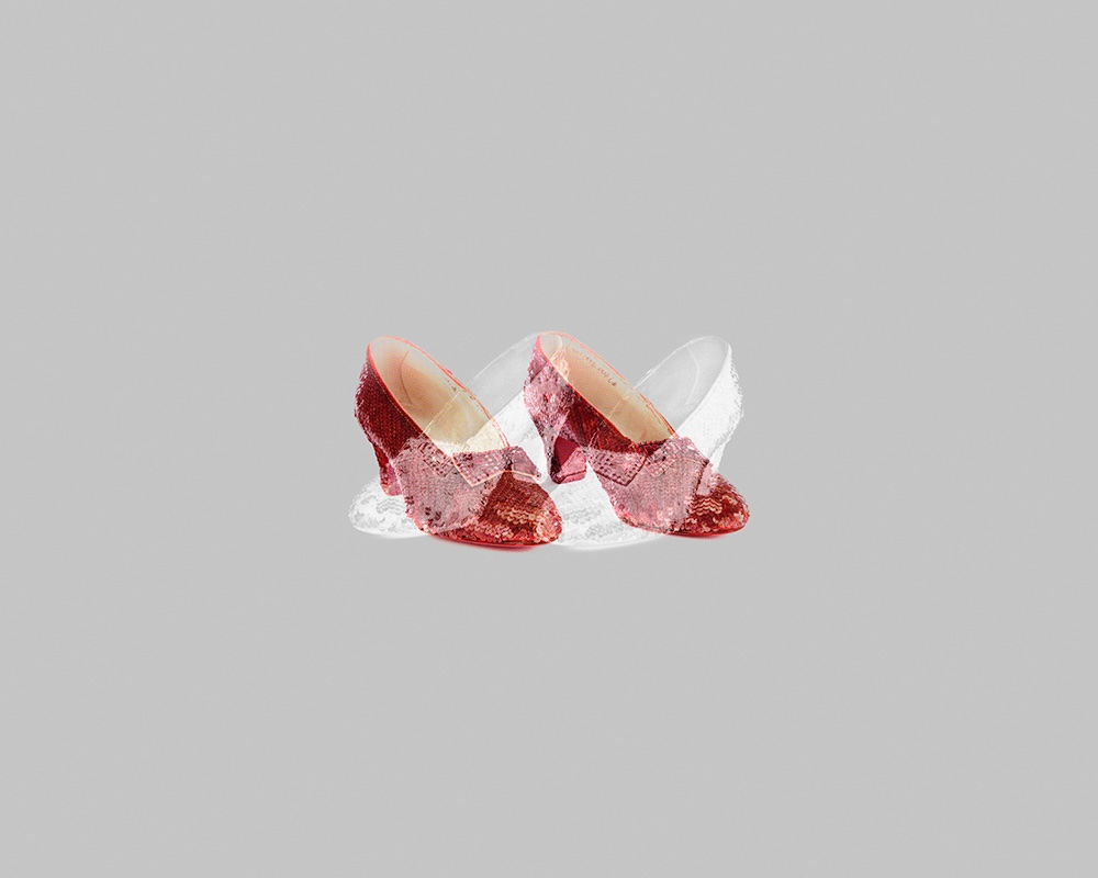 Ruby Slippers / Silver Shoes – Matthew Gamber, 2012