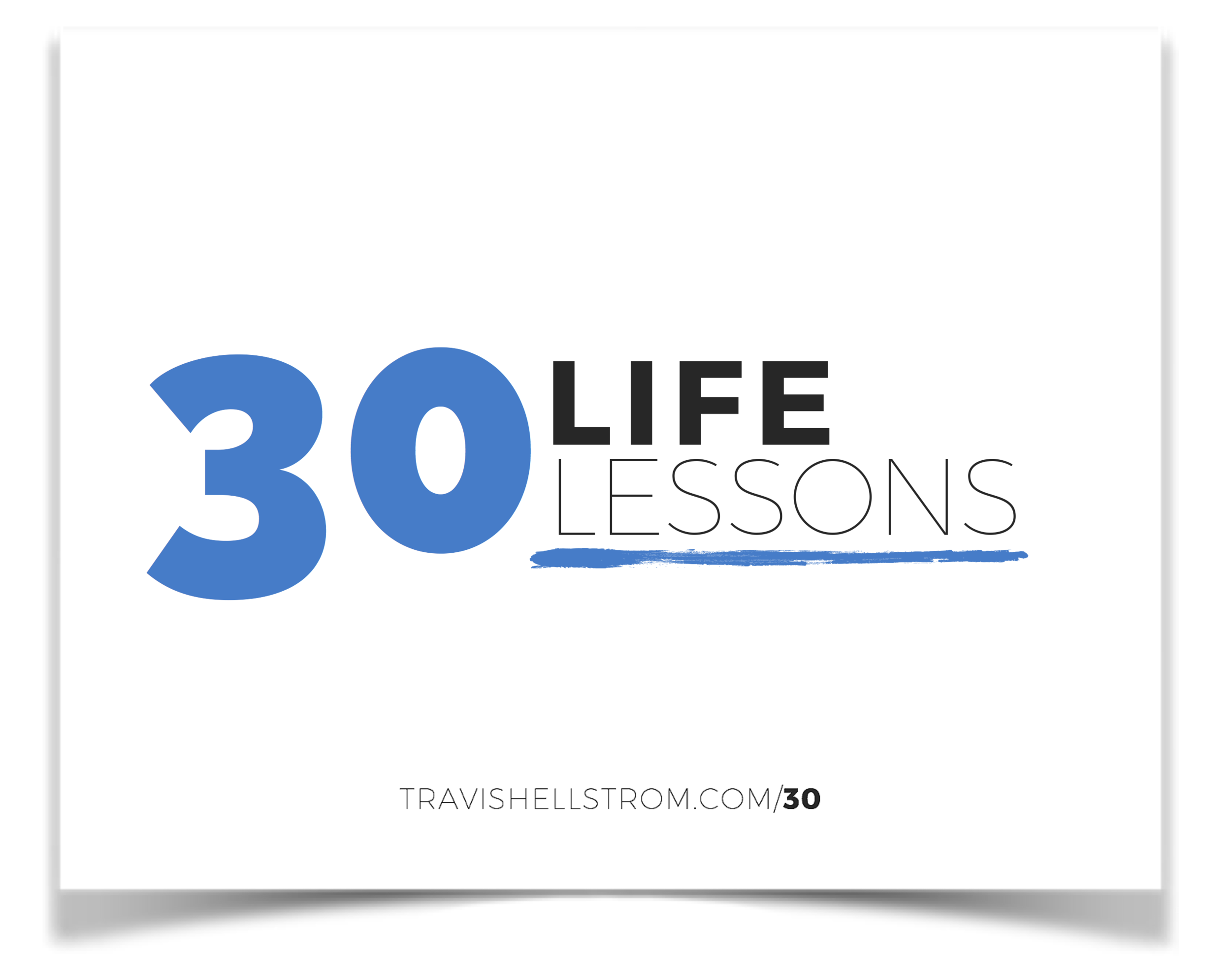 30 Life Lessons Icon