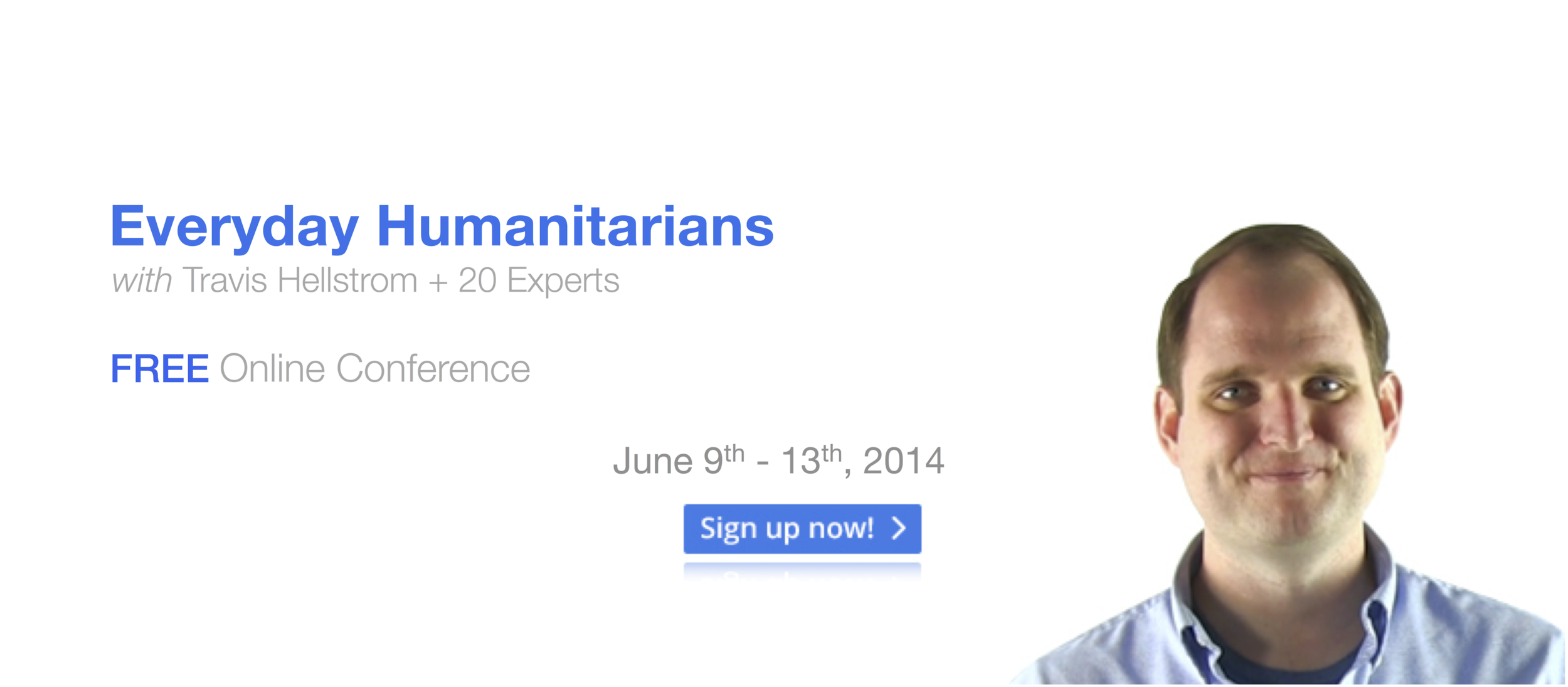 Humanitarian Conference Facebook Cover Photo
