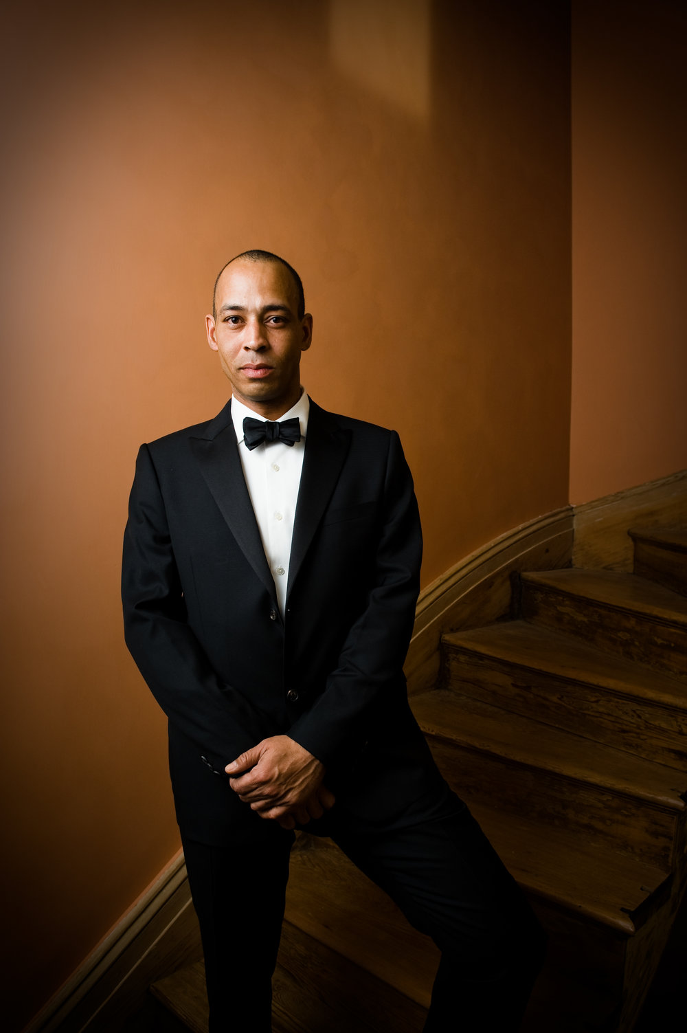 Grooms portrait in New Orleans