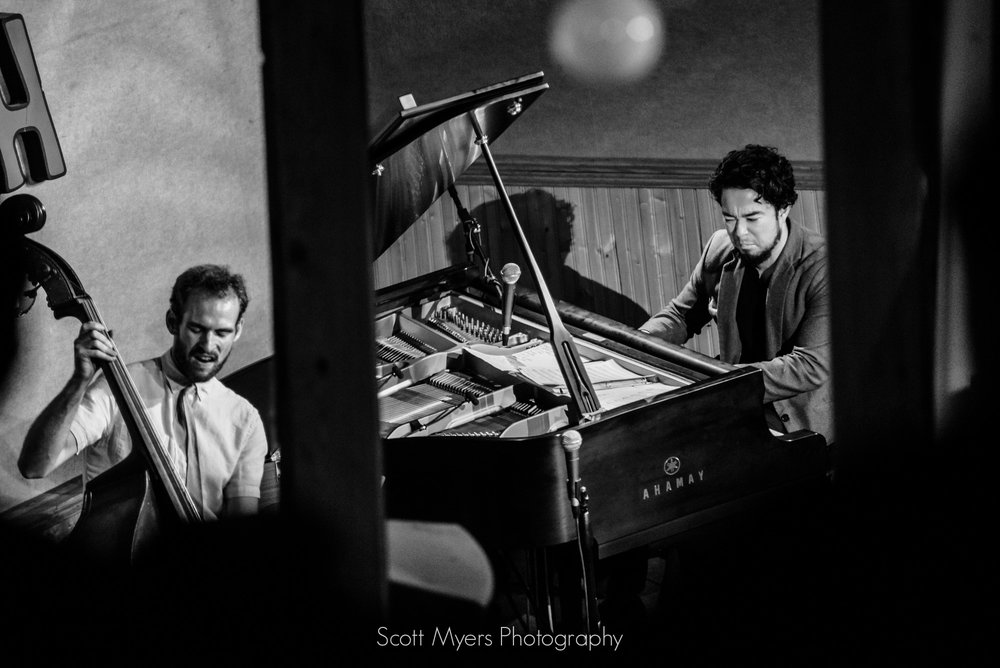 Oscar Rossignoli and Matt Booth at Snug Harbor, New Orleans