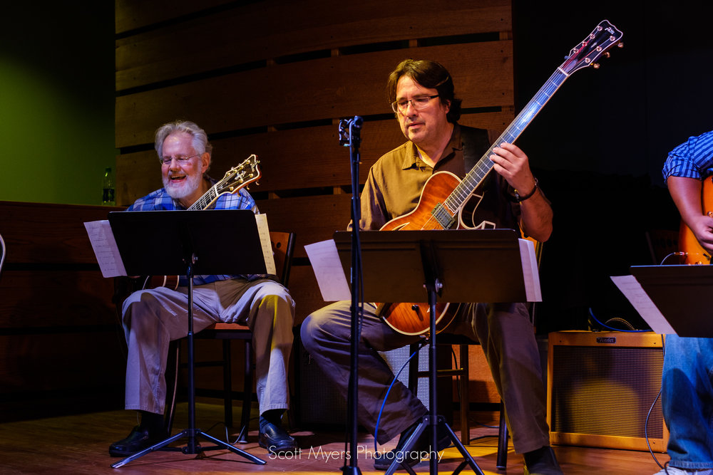 Hank Mackie and Steve Masakowski, Jazz Guitarists