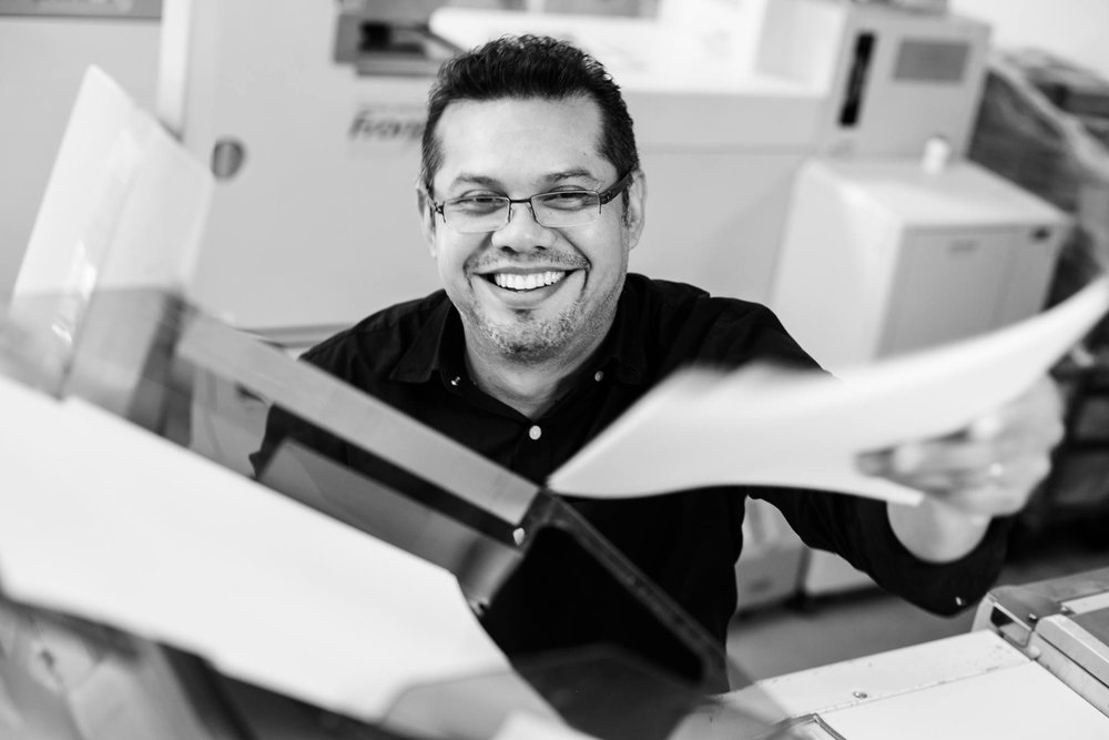 Rafael Hernandez, Color Correction & Printing